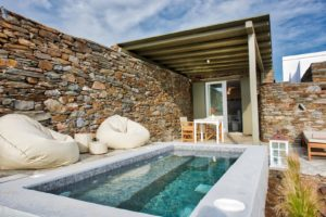 Vathi Bleu Private Villas & Suites |  Tinos Island Greece