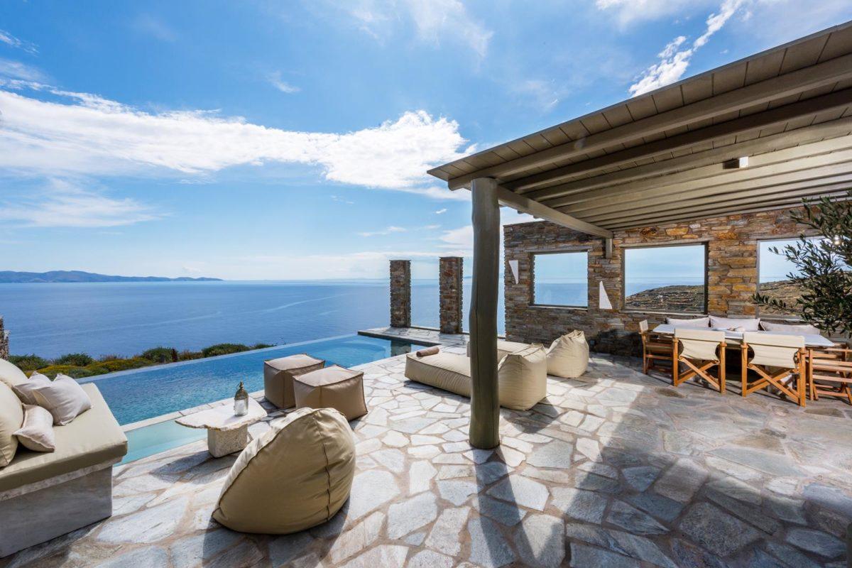 Βίλα με Πισίνα Τήνο | Vathi Bleu - Privet Villas | Πολυτελή Απόδραση