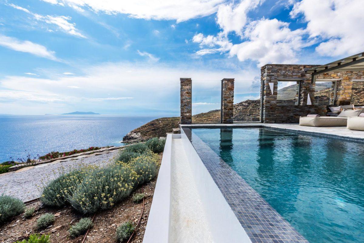 Βίλα με Πισίνα Τήνο | Vathi Bleu - Private Villas | Πολυτελή Απόδραση
