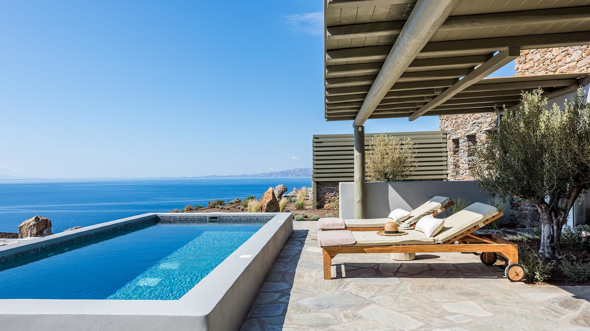 The Hotel | Vathi Bleu Private Villas | Tinos Island Cyclades