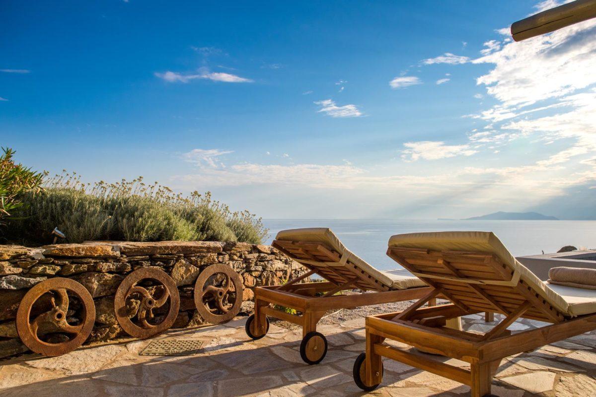 Σουίτα στην Τήνο με Ιδιωτική Πισίνα & Θέα | Vathi Bleu Private Villas