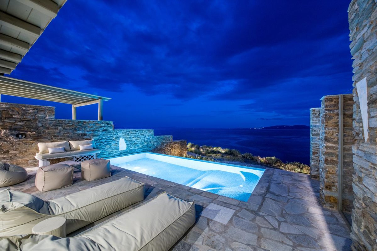 Two Bedroom Villa Tinos | Vathi Bleu Private Villas | Enjoy Our Accommodation
