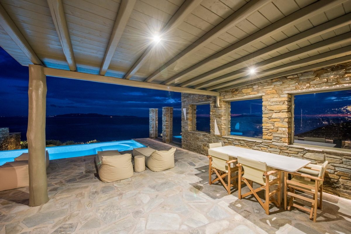 Two Bedroom Villa Tinos | Vathi Bleu Private Villas
